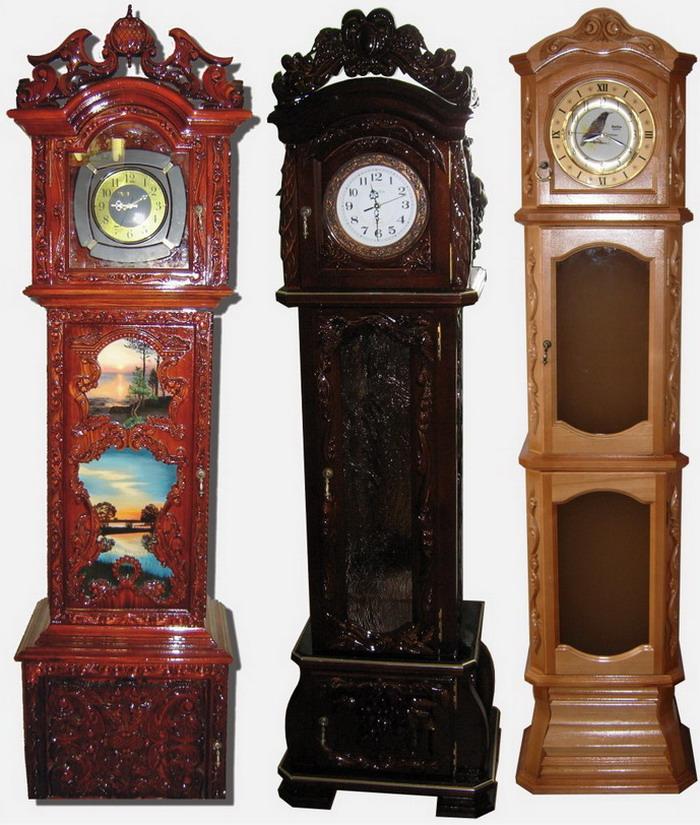 Напольные часы своими руками