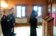 Воспитанники АВК отслужили Божественную литургию
