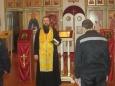 Осужденных ИК-1 поздравили с Крещением