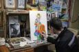 Осужденные Поморья готовятся к конкурсу православной живописи