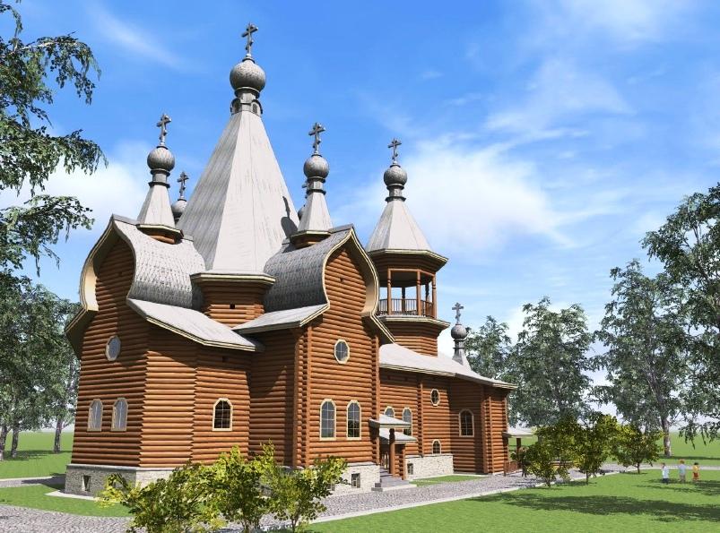 Храм в Канаду построят осужденные ИК-14